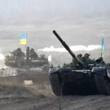 »Undtagelsestilstand er ikke en krigserklæring,« skyndte Ukraines præsident, Petro Porosjenko, sig at sige mandag i parlamentet ifølge nyhedsbureauet Reuters.