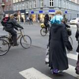 I Københavns Kommune er andelen af indvandrere og efterkommere i 2018 25 procent. Billedet er fra Nørrebro.