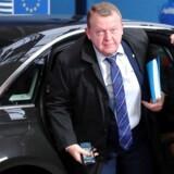 Søndag drog Lars Løkke Rasmussen til Bruxelles for at nikke ja til Brexit. En eventuel dansk skilsmisse fra EU – et Dexit – bliver ikke »med ham som deltager«, forsikrer han. Foto: Yves Herman/Ruters