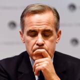 Mark Carney, direktør for den britiske nationalbank, Bank of England, maler et dystert billede af fremtiden, hvis Storbritannien forlader EU uden en aftale.