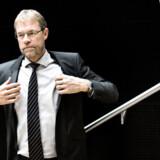Koncernchef for Cowi Lars-Peter Søbye var torsdag i Aarhus for give håndslag på købet, der øger Cowis samlede antal medarbejdere til over 7.000.