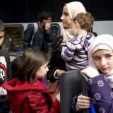 »Ved starten af 2018 er der i alt 549 ikke-vestlige børn af efterkommere, som er 16 år,« skriver Danmarks Statistik i ny rapport. Billedet stammer fra 2015, da Danmark oplevede en stor tilstrømning af flygtninge fra ikke mindst Syrien.