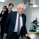 Vil Bernie Sanders prøve at blive demokraterens præsidentkandidat ved valget i 2020? Tja, det vides ikke, men senatoren fra Vermont har lige skrevet en ny bog om sin visioner for fremtidens USA. Berlingske var med da præsenterede bogen i Washington D.C.