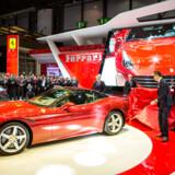 Ferrari er en af de aktier, der blev anbefalet blandt top hedgefond-chefer til Sohn-konferencen i London. Arkivfoto: Pierre Albouy/AFP/Ritzau Scanpix