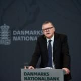 Nationalbankdirektør Lars Rohde skal også på talerstolen ved dagens årsmøde i brancheforeningen Finans Danmark.
