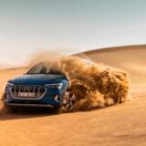 Den nye Audi e-tron er overraskende kapabel offroad takket være el-motorernes monumentale bundtræk.