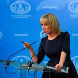 Talsperson for det russiske udenrigsministerium, Maria Sakharova, beskyldte onsdag Lars Løkke Rasmussen for at fordreje historien om Anden Verdenskrig.