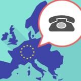 Til maj falder prisen for at ringe herhjemmefra til udlandet – hvis man altså skal have fat i nogen, der befinder sig inden for EUs grænser. Arkivfoto: Iris/Scanpix
