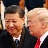 Investorerne er endnu en gang nervøse for en eskalering af handelskrigen mellem USA og Kina, efter Huaweis finansdirektør - og datter af selskabets stifter - er blevet anholdt i Canada med henblik på at blive udleveret til USA (Foto: Andrew Harnik/Ritzau Scanpix)