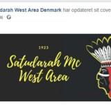 Screendump fra Satudarah West Areas facebookside. Her ses, at tallet 1923 forbindes med gruppen. To af de mænd, som er sigtet for drabet på radiovært Nedim Yasar har en tatovering med tallet. Free