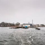 Lindholm nær Stege og Kalvehave på Sydsjælland. I 2021 skal udviste kriminelle fra Kærshovedgård flytte til Lindholm.