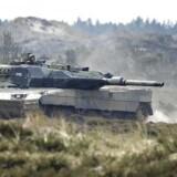 Den internationale kampvognskonkurrence Nordic Tank Challenge med Leopard-2A5-kampvogne fandt i 2017 sted i Oksbøl.