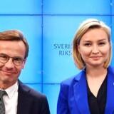 Ulf Kristersson (M) og Ebba Busch Thor (KD) har scoret en vigtig politisk sejr med den vedtagne finanslov. Men regeringsmagten er fortsat langt væk.