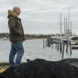 Max Tobiasen er talsmand for en forening, der kæmper for at bevare den fredede Stejlepladsen i Fiskerhavnen i den københavnske Sydhavnen, hvor kommunen vil bygge 550 nye boliger.