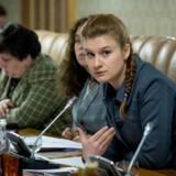 Maria Butina er her fotograferet under et møde i Den Russiske Føderations Civilkammer.