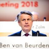 Ben van Beurden, chef for Royal Dutch Shell, er gået foran andre topchefer i branchen, når det gælder om at lade klimamål indgå i kriterierne for hans aflønning. Det kommer efter pres fra en række investorer, senest som her på den britisk-hollandske olie- og gasgigants årlige generalforsamling i Haag i maj 2018.