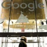 Google har siden 2000 haft kontor i New York men vil over de næste to år fordoble medarbejderskaren til 15.000. Arkivfoto: Jeenah Moon, Reuters/Scanpix