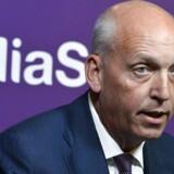 Telias tidligere koncernchef, Lars Nyberg, er på anklagebænken i en bestikkelsessag, som involverer milliarder betalt under bordet. Arkivfoto Claudio Bresciani, Reuters/Scanpix