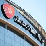 GlaxoSmithKline i det vestlige London. Sammen med Pfizer går de sammen om et joint venture, som bliver til verdens største udbyder af håndkøbsmedicin.