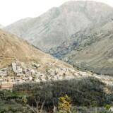 Imlil i Atlasbjergene i Marokko.