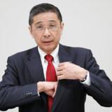 Nissans øverste topchef, Hiroto Saikawa, ses her til en pressekonference i den japanske bilkoncerns hovedsæde i Yokohama i Japan 17. december 2018. Han har lagt afstand til Carlos Ghosn, der i november blev afsat som formand for Nissan efter at være anholdt for bedrageri og nu har en uvis skæbne som overhoved for den større Renault-Nissan-Mitsubishi-alliance.