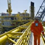 Arkivfoto.Det bliver næppe en stor gevinst for Mærsk-aktionærerne, hvis konglomeratet vælger at børsnotere olie- og gasdivisionen Maersk Oil.