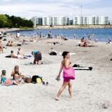 Onsdag kan termometre i Danmark nå 30 grader celsius, spår DMI.