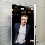 Michael Simmelsgaard adm. direktør i Vattenfall, fortæller, at man i øjeblikket ser på, hvornår Horns Rev 1 skal pilles ned. Foto: Tor Birk Trads