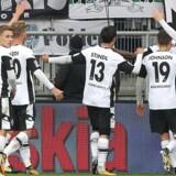 Jannik Vestergaard scorede for Borussia Mönchengladbach i sejren over Hoffenheim i Bundesligaen. Scanpix/Daniel Roland