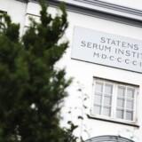 ARKIVFOTO: Statens Serum Institut.