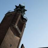 Frederiksberg Rådhus og omegn.