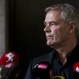 Peter Madsen og U-bådssagen. Københavns Politi holder pressemøde angående Kim Walls lig. DNA match, liget er Kim Wall.