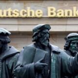 Arkivfoto. Deutsche Bank har fået en bøde på 163 mio. pund, eller 1,4 mia. kr., for hvidvask.
