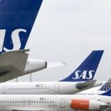Arkivfoto. Luftfartsselskabet SAS har forlænget sin aftale med rejseselskabet Apollo om charterflyvninger i vinter- og sommersæsonen 2017/18.