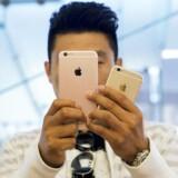 Apple tjener langt hovedparten af sit overskud fra iPhone-salget.