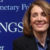 58-årige Ruth Porat er fra 26. maj ny koncernfinansdirektør i Google til en skyhøj betaling. Foto: Chip Somodevilla/AFP
