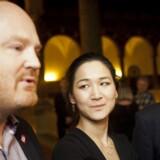 København har fået en erhvervspris, og de nominerede til prisen er nu offentligjort. I dommerkomiteen sidder blandt andre de københavnske borgmestre - fra venstre: Morten Kabell (EL), Anna Mee Allerslev (RV) og Frank Jensen (S). Arkivfoto fra kommunalvalget i 2013.