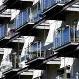 Arkivfoto af lejlighedskompleks på Teglholmen i Københavns Sydhavn.