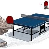 Kan bordtennis hjælpe demente? I Danmark turnerer en ildsjæl med næsten overbevisende fakta for at gøre sporten helbredende.