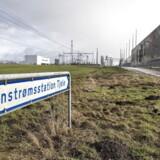 Apple investerer 6,3 milliarder kroner i at bygge et nyt datacenter i Foulum nær Viborg i Midtjylland, lige ved den store transformatorstation. Jordsalget er nu ved at gå i orden. Arkivfoto: Henning Bagger, Scanpix