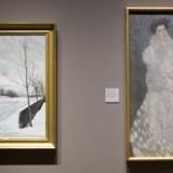 I 2015 betalte The National Gallery i London 659.000 for L.A. Rings »Vinterdag« fra 1912. Maleriet hænger her ved siden af Gustav Klimt på det britiske kunstmuseum.