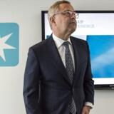 Mærsk-topchef Søren Skou præsenterer det danske selskabs fremtidsplaner.