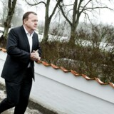 Arkivfoto: Statsminister Lars Løkke Rasmussen ankommer til Kragerup Gods til et regeringsseminar.
