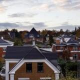 ARKIVFOTO 2013 af huse på Frederiksberg - Konkurrencerådet fremlægger fredag dets rapport om konkurrencen på realkreditmarkedet.