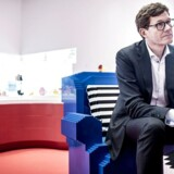 Administrerende direktør Niels B. Christiansen i LEGO House i Billund, hvor LEGO mandag offentliggjorde regnskab for 2017.