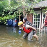 Skaderne efter orkanen Harvey i Texas kan ende med at koste milliarder, forudser eksperter.