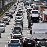 ARKIVFOTO af kø på motorvej- (Foto: Dennis Lehmann/Scanpix 2013)