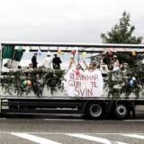 Studenterkørsel i Danmark. Arkivfoto.
