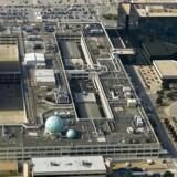 De amerikanske politikere strammer nu den omstridte efterretningstjeneste National Security Agency, NSAs muligheder for at arbejde uden kontrol i overvågningen af amerikanerne. Her ses NSAs hovedkvarter i Fort Meade i staten Maryland. Arkivfoto: Paul J. Richards, AFP/Scanpix