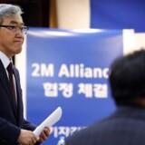 ARKIVFOTO: Hyundai Merchant Marines CEO Yoo Chang-keun